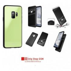 Husa Silicon GLASS Samsung J320 Galaxy J3 2016 Lime