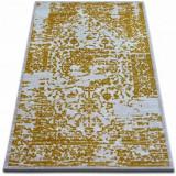 Covor acril Beyazit 1794 fildeş si aur, 160x235 cm