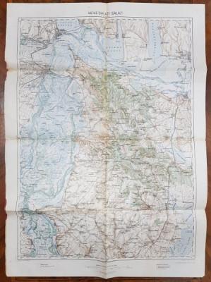 Harta Galati, 1915 foto