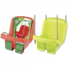 Leagan din plastic copii pentru exterior Androni cu spatar