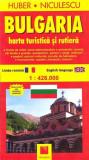 Bulgaria - Harta turistica si rutiera |