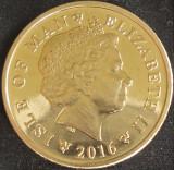 Moneda exotica 10 PENCE - ISLE OF MAN, anul 2016 *cod 3412 = A,UNC, Europa