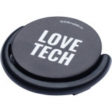 Suport stand smartphone Popsocket Love Tech Negru, QUICKMOBILE