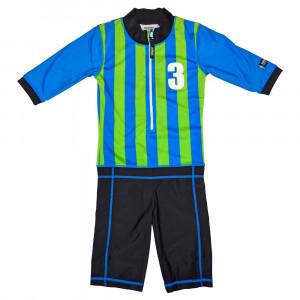 Costum de baie Sport blue marime 98- 104 protectie UV Swimpy for Your BabyKids