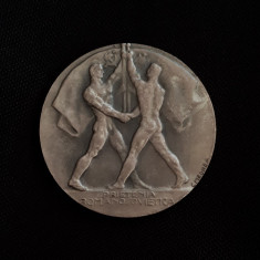 Medalie argint 1946 - Arlus - Banca nationala a Romaniei - Patina superba