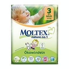 Scutece Eco pentru Bebelusi 4-9kg Nr.3 Moltex 34buc Cod: BG261897.34