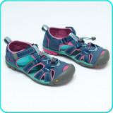 DE FIRMA → Sandale din piele+textil, protectie, calitate KEEN → fete | nr. 34