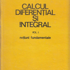 Garantia de livrare CALCULUL DIFERENTIAL SI INTEGRAL GH.SIRETCHI VOL,1  si 2