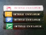 DICTIONAR ENCICLOPEDIC 4 volume (1993, Editura Enciclopedica, editie cartonata)