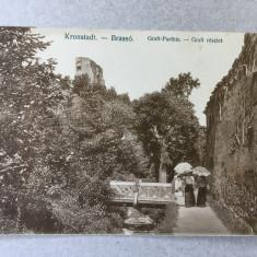 Carte poștală Brașov, 1913 - Graft.