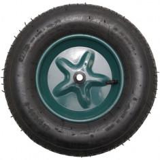 Roata pentru roaba, ax subtire, 14 mm, mixt, 4.00-8 4PR, YTGT-00039