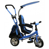 Tricicleta copii cu scaun reversibil Baby Mix Safari WS611 albastru resigilat