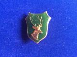 Insignă vânătoare - Insignă România - Vânătoare - Căprior