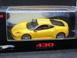 Macheta Ferrari 430 Scuderia Hotwheels Elite 1:43