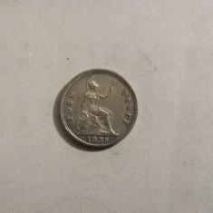 CY - 4 pence / groat 1836 Marea Britanie / argint / SUPERBA