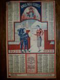 RECLAMA CALENDAR 1939 - CALFA HORNARI IOAN SCHNEIDHOFFER MAISTRU HORNAR - REGHIN
