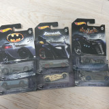Set 6 masinute hot wheels DC Batman, 1:64
