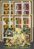 DB1 Arta Pictura Guineea Gauguin Impresionism 4 x MS +  SS  MNH, Nestampilat