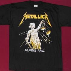 Tricou Metallica - And Justice For All , marimea XS,S,M,calitate 180 grame