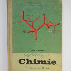 Chimie - manual pentru clasa a XII-a - Costin Nenitescu