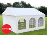 4x6m Cort Professional Plus PVC ignifug 550 g/m² alb
