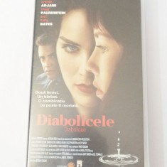Caseta video VHS originala film tradus Ro - Diabolicele