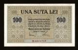 ROMANIA  - 100 LEI 1917 BGR  ,  OCUPATIA  GERMANA . BANCA  GENERALA ROMANA