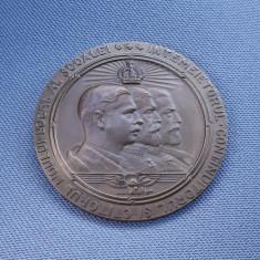 Medalie 1939 Regele Carol I - Ferdinand - Carol II - Militara SC. S. de razboiu
