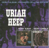 CD Uriah Heep ‎– ...Very 'Eavy ...Very 'Umble, original, rock