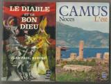 2 carti in franceza de Camus si Sartre
