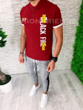 Tricou slim fit polo -  tricou barbati - tricou fashion - A5383