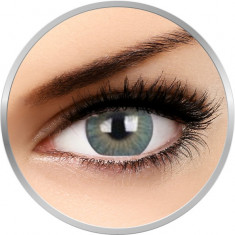 ZenVu Vogus Green - lentile de contact colorate verzi trimestriale - 90 purtari (2 lentile/cutie)
