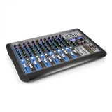 Cumpara ieftin Power Dynamics PDM-S1604, mixer muzical, 16 canale, DSP/MP3, port USB, receptor bluetooth