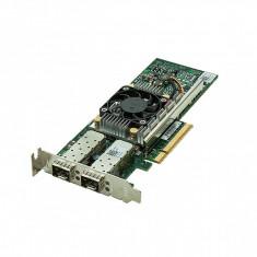 Placa de retea server DELL Broadcom 57810S 10GB SFP+ Dual Port PCI-e Low Profile DP/N Y40PH