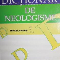 DICTIONAR DE NEOLOGISME - MIHAELA MARIN