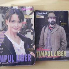 Lot 17 reviste Timpul liber ghidul divertismentului supliment tv Romania libera