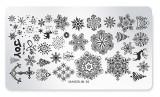 Șablon ștampilare - 01 - Christmas