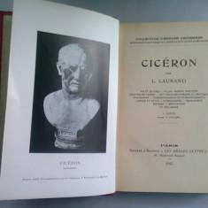 CICERON - L. LAURAND (CICERO, BIOGRAFIE)
