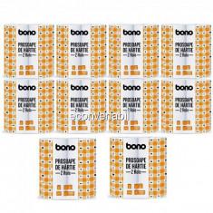 Set 10 Pachete Prosoape Hartie 2 straturi 10x2 Role 9.45m Bono DC13257