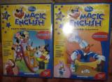 2 DVD Sigilate,Curs limba engleza Disney Magic English,DeAgostini,,T.GRATUIT