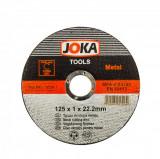 Discuri abrazive pt metal 125x1x22.2 Joka