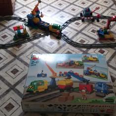 Tren + rampa de incarcare in stare super buna