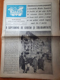 magazin 12 martie 1977-primul nr al ziarului dupa marele cutremur din 1977