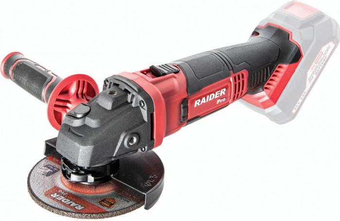 Polizor unghiular 20V Ø125mm 10 000min-1 RDP-SAG20, fara acumulator, Raider 030136