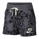 SORT Nike W NSW GYM VNTG SHORT LEOPARD