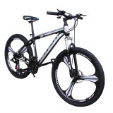 Bicicleta MTB 26 inch, schimbator Shimano 21 viteze, frane pe disc, cadru otel, Tornado, Phoenix