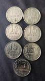 15 KOPEKS U.R.S.S. AN :1961,1962,1980,1981,1983,1990,1991.