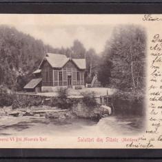 SALUTARI DIN SLANIC MOLDOVA  ISVORUL IV BAI MINERALEMINERALE  CLASICA CIRC. 1901