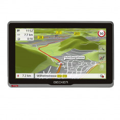 Sistem Navigatie GPS Camion Becker Transit 7sl Wireless (WiFi) Harta Full Europa, 7, Toata Europa, Lifetime