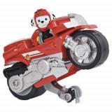 Set Paw Patrol Motocicleta si Figurina Marshall, Spin Master